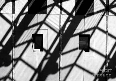 Photograph - Shadows - Parliament House - Canberra - Australia by Steven Ralser