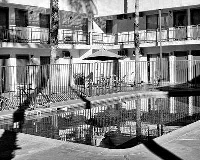 Shadows In Paradise Palm Springs Art Print
