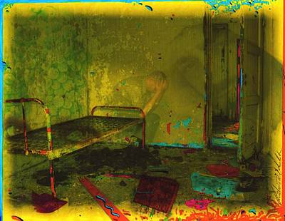 Contemplative Painting - Shadows Of An Empty Room by Anthony Whelihan