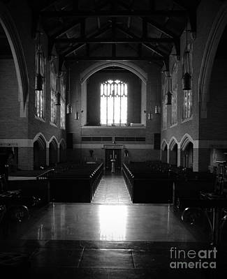 Augustana Photograph - Shadows Of Augustana by Jost Houk