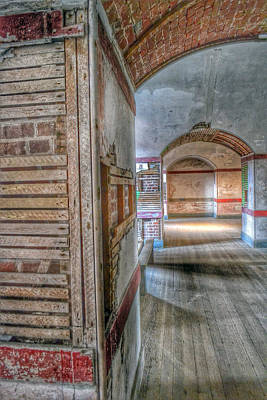 Photograph - Shadows Of Fort Point by Bill Owen