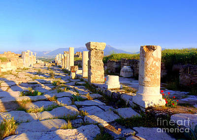 Photograph - Shadows Of Laodicea by Lou Ann Bagnall