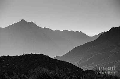 Photograph - Shadows Of Peaks by Tamara Becker