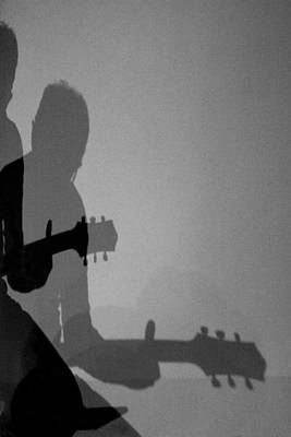 Chitarra Photograph - Shadows Of Sound by Stefano Barni