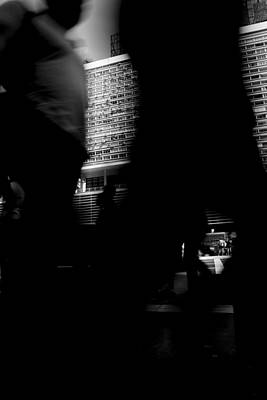 Anonymity Photograph - Shadows Of The City by Koepp Photography