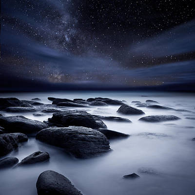 Shadows Of The Night Art Print by Jorge Maia