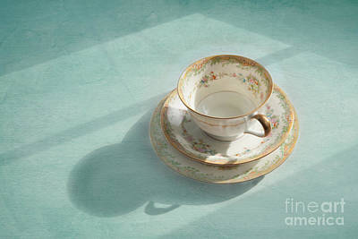Cup Photograph - Shadows Of The Past by Kay Pickens