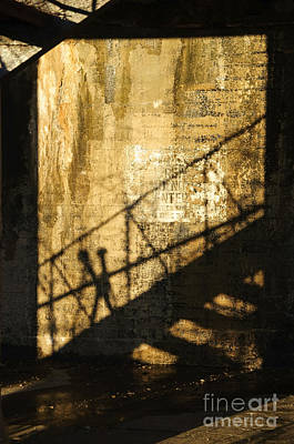 Photograph - Shadows On The Past by Debra Fedchin
