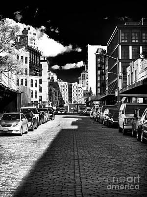 Shadows On The Street Art Print by John Rizzuto