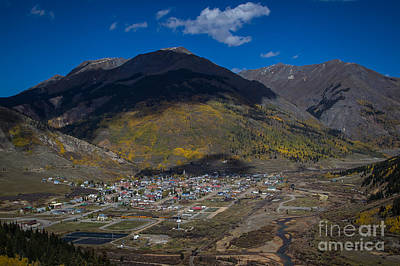 Photograph - Shadows Over Silverton by Jim McCain