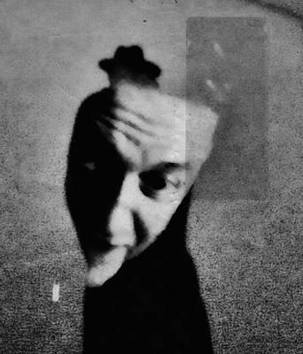 Face Wall Art - Photograph - Shadows (portrait) by Dalibor Davidovic
