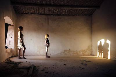 Photograph - Shadows Reborn - Convergence by Alfio Finocchiaro