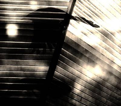 Audrey Hepburn - Shadows Symphony  by Jessica S