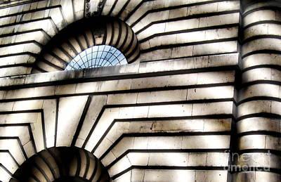 Zeni Shariff Photograph - Shadowy Building by Zeni Shariff