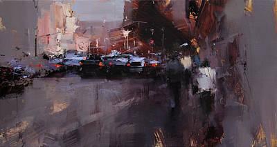 Gloom Painting - Shadowy Side by Tibor Nagy