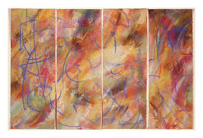 Shadrach Meschach And Abednego Art Print by Brian Jones