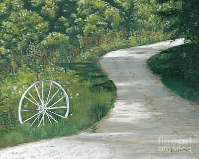 Painting - Shady Lane by Billinda Brandli DeVillez