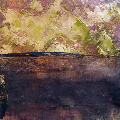 Abstractabstract Painting - Shady Acres by Holly Anderson