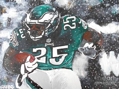 Phillies Art Painting - Shady Mccoy by Kevin J Cooper Artwork