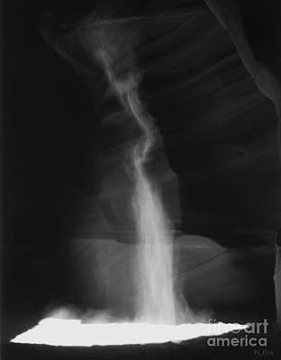 Photograph - Shaft Of Light Bw by Heather Kirk