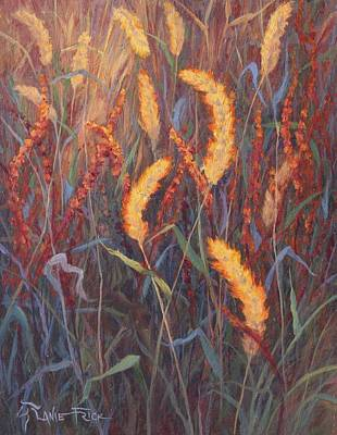 Wall Art - Painting - Shafts Of Brilliance by Lanie Frick