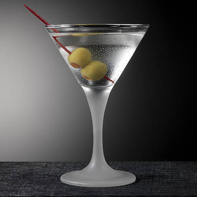 Martini Royalty-Free and Rights-Managed Images - Shaken Not Stirred by Robert Mollett