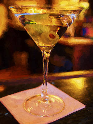 Martini Royalty-Free and Rights-Managed Images - Shaken with Olives by David Kay