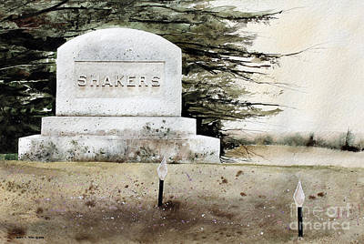 Painting - Shakers by Monte Toon