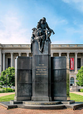 Photograph - Shakespeare Memorial by Boris Mordukhayev