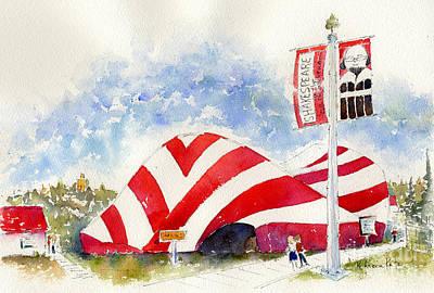 Painting - Shakespeare On The Saskatchewan by Pat Katz