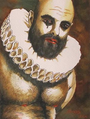 Shakespearian Bear Art Print by Michel Jutras