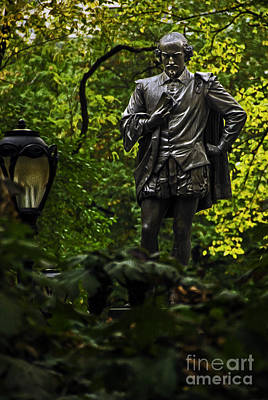 Photograph - Shakespeare In Central Park by Phil Cardamone