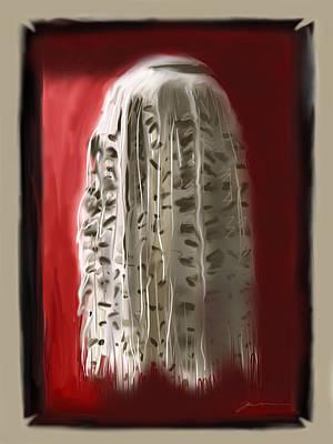 Shakira Digital Art - Shakira's Skirt by Jean Pacheco Ravinski