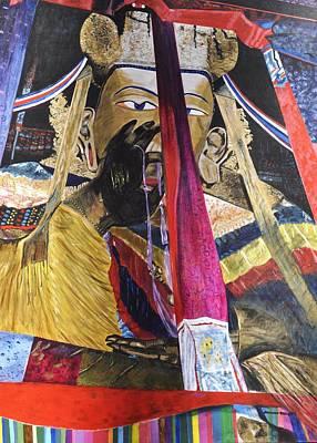 Shakyamuni Art Print by Dottie Branchreeves