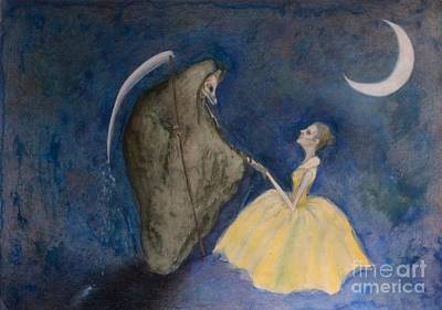 Painting - Shall We Dance? by Chiyuky Itoga