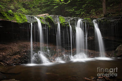 Photograph - Waterfall Waltz by John Stephens