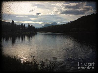 Art Print featuring the photograph Shallow Lake by J Ferwerda