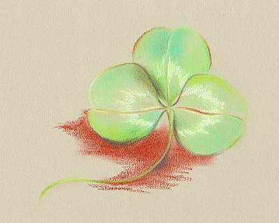 Pastel - Shamrock Clover by MM Anderson