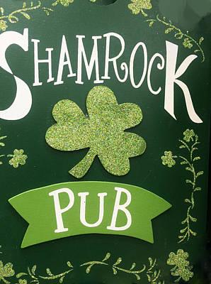 Photograph - Shamrock Pub by Caroline Stella