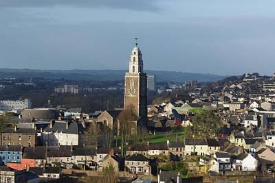 Shandon Bells Tower In Cork City Art Print by Patrick Dinneen
