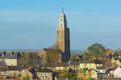 St Annes Tower Shandon Tower Cork City Art Print by Patrick Dinneen