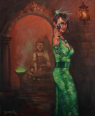 Shanghai Surprise Art Print by Tom Shropshire