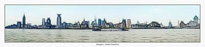 Shanghai Waitan Waterfront Art Print