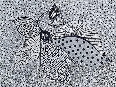 Drawing - Shangrila by Ankeeta Bansal