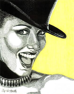 Shania Twain Art Print