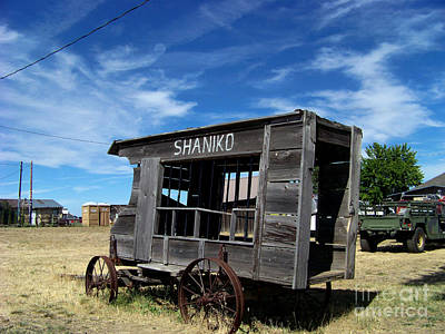 Paddy Wagon Photograph - Shaniko Paddy Wagon by Charles Robinson