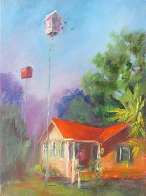 Susan Richardson Painting - Shannons Cottage by Susan Richardson