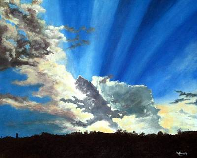 Dillon Painting - Shannon's Sky by Michael Dillon