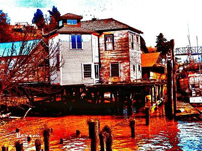 Photograph - Shanty On Stilts by Sadie Reneau