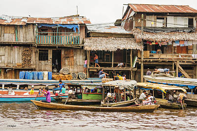Photograph - Shanty Town - Count Em by Allen Sheffield